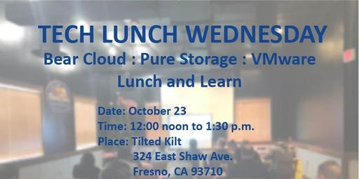 BearCloud, Vmware and Pure Storage exploring our Hybrid Cloud.