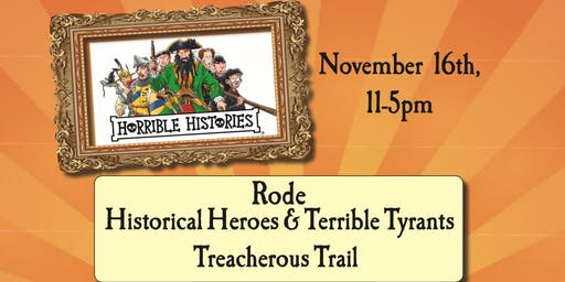 Rode Horrible Histories Trail