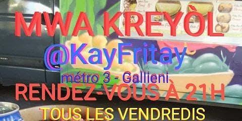 Sware Kreyòl nan Kay Fritay (Paris) pou Mwa Kreyòl 2019