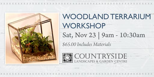 Woodland Terrarium Workshop