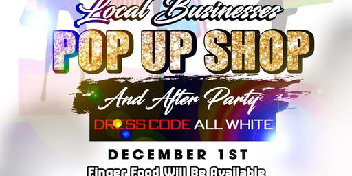 Pop up shop / afterparty (day event)