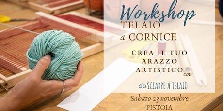 Telaio a Cornice_ Crea il tuo arazzo artistico biglietti
