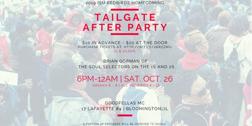 Homecoming Tailgate After Party