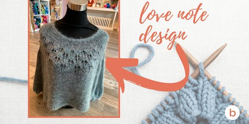Boomerang Class: Love Note Sweater in Five Weeks!