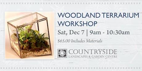 Woodland Terrarium Workshop tickets