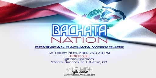 Bachata Nation - Dominican Workshop