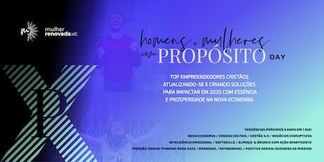 Homens & Mulheres com Propósito - Day tickets