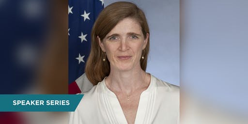"Live Taping of ""The Axe Files"" with Amb. Samantha Power"