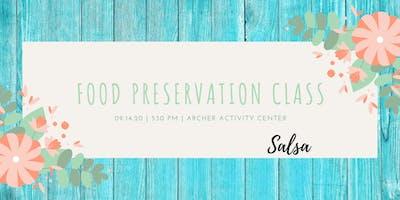 Food Preservation-Salsa