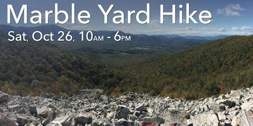 Hike to Devil's Marble Yard