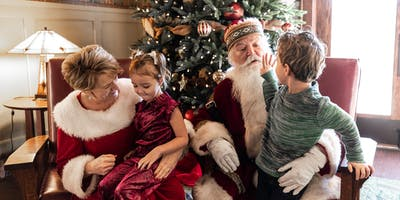 Pancake Breakfast with Santa & Mrs. Claus  at the Lodge