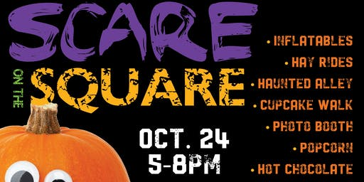 SCARE ON THE SQUARE - FREE EVENT FOR THE FAMILY
