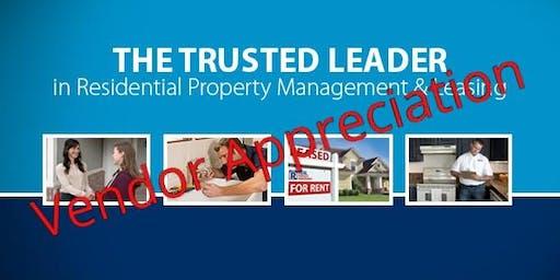 Real Property Management Vendor Appreciation