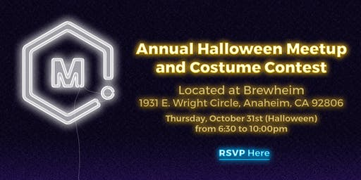 MatterHackers Halloween Meetup & Costume Contest
