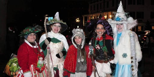 Witches Dance the Holiday Parade 2019