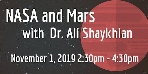 NASA and Mars for Teens with Dr. Ali Shaykhian