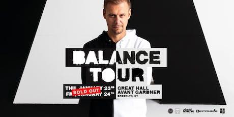 Armin van Buuren tickets