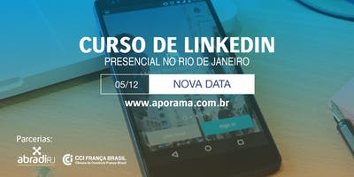 Curso Presencial de LinkedIn no Rio de Janeiro