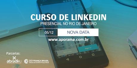 Curso Presencial de LinkedIn no Rio de Janeiro ingressos