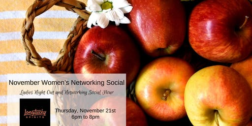 November Women In Business Networking Social