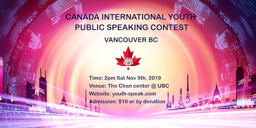 Canada International Youth Public Speaking Contest