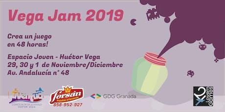 Vega Jam 2019 entradas