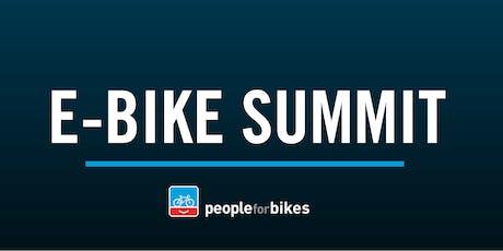 PeopleForBikes E-bike Summit tickets