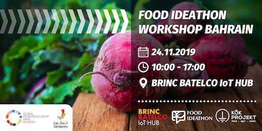 Food Ideathon Workshop Bahrain