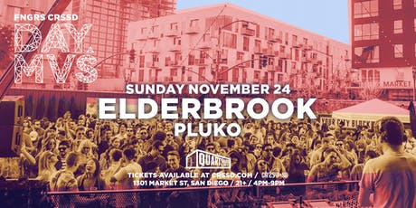 ELDERBROOK + PLUKO tickets