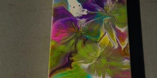 Acrylic Pour Paint Class