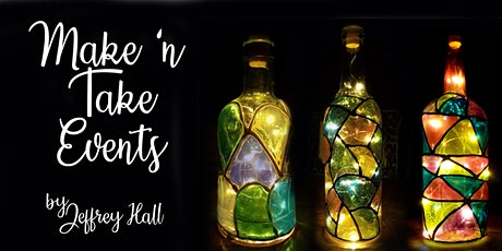 Make 'n Take - Stained Glass Wine Bottle tickets