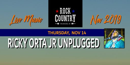 Ricky Orta Jr Unplugged at Rock Country!