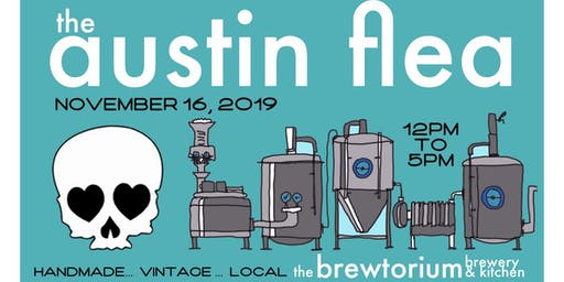 The Austin Flea at the Brewtorium