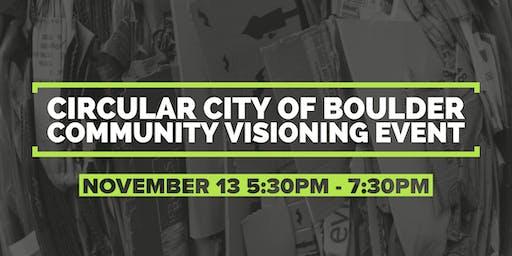 Circular City of Boulder: Community Visioning Event