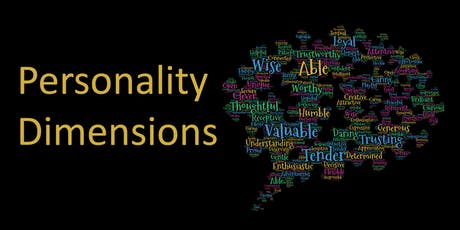 Personality Dimensions  tickets