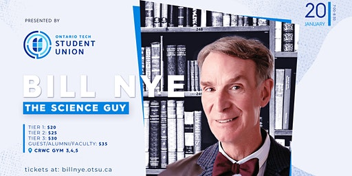 The OTSU Presents: Bill Nye 'The Science Guy'