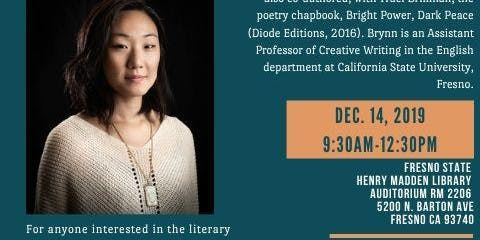 Live, Write Workshop for Writers of Color with Poet, Brynn Saito (free to the public)