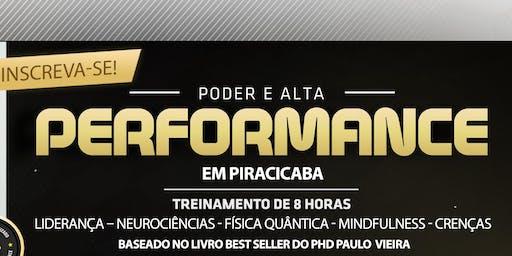 PODER E ALTA PERFORMANCE ® Turma 4 - Treinamento Oficial de 8 Horas