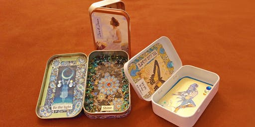 MAKE, CRAFT & DO: Altered Tin Containers with Maureen Tillman