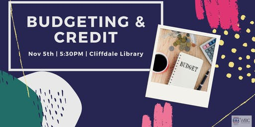 Credit 101 & Personal Budget Workshop