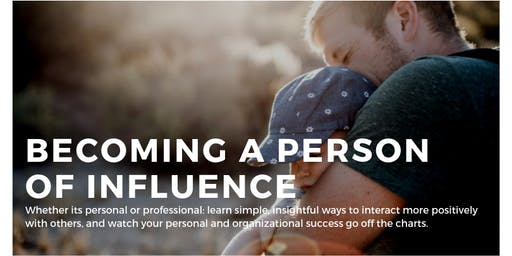 Become a Person of Influence Series