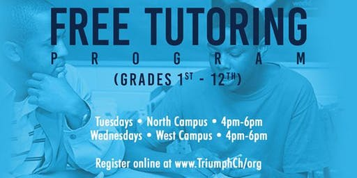 FREE Tutoring (Tuesdays)