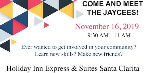 Come and Meet the Jaycees!