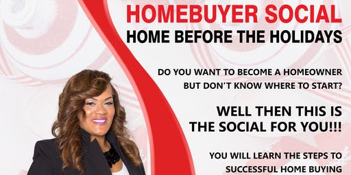 Home Before The HOLIDAYS-Home Buyer Social