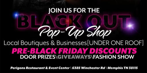 The Black Out Holiday Shopping Event