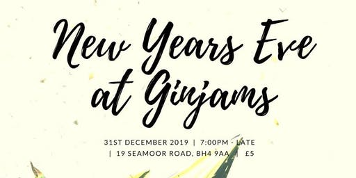 Ginjams New Years Eve Party 2019