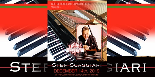 Stef Scaggiari Holiday Concert at QAC Centre for the Arts