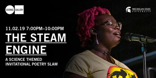 STEAM Engine Poetry Slam