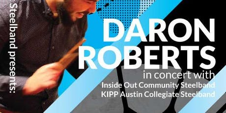 Inside Out Steelband presents Daron Roberts tickets