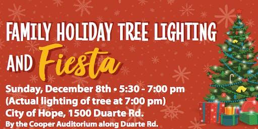 Family Holiday Tree Lighting & Fiesta